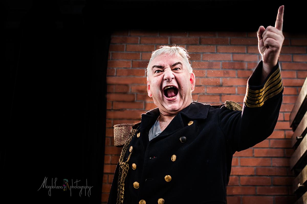 Jak jsem fotila Mistra v divadle Husa na provázku, fotografka Brno Miroslav Donutil